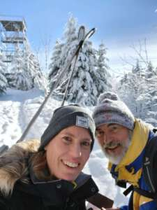 Bernd Siebert Winterwanderung 15.1.